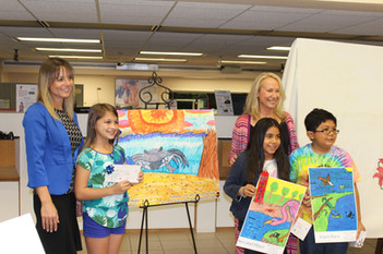 Judging Elementary School Art Contest