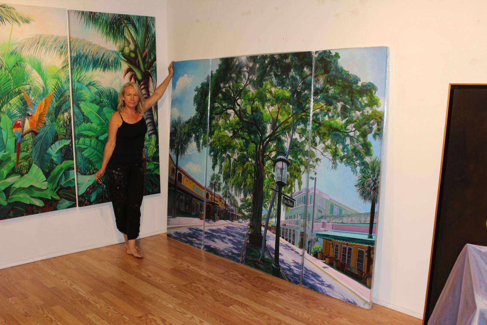 Las Olas, Fort Lauderdale Triptych