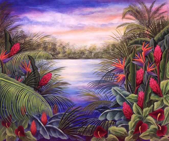 Tropical Landscape II