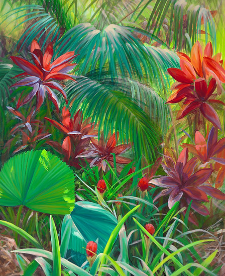 Tropical Foliage IV