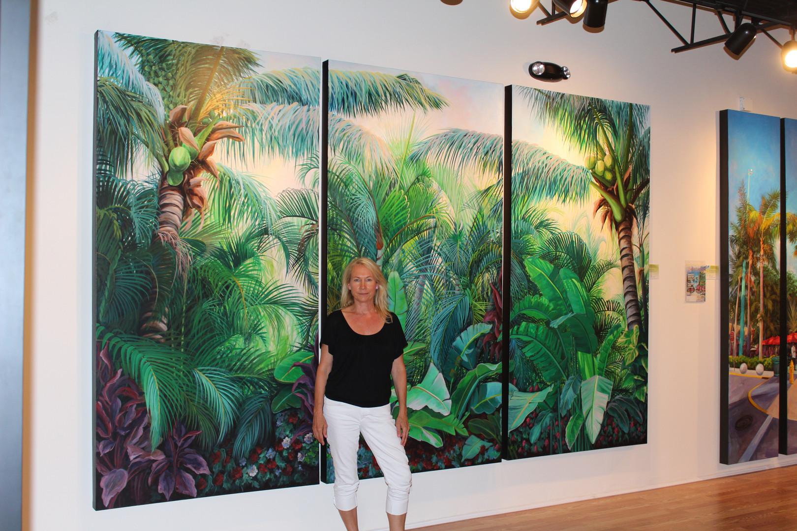 White Bird of Paradise Original Panels