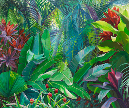 Tropical Foliage V
