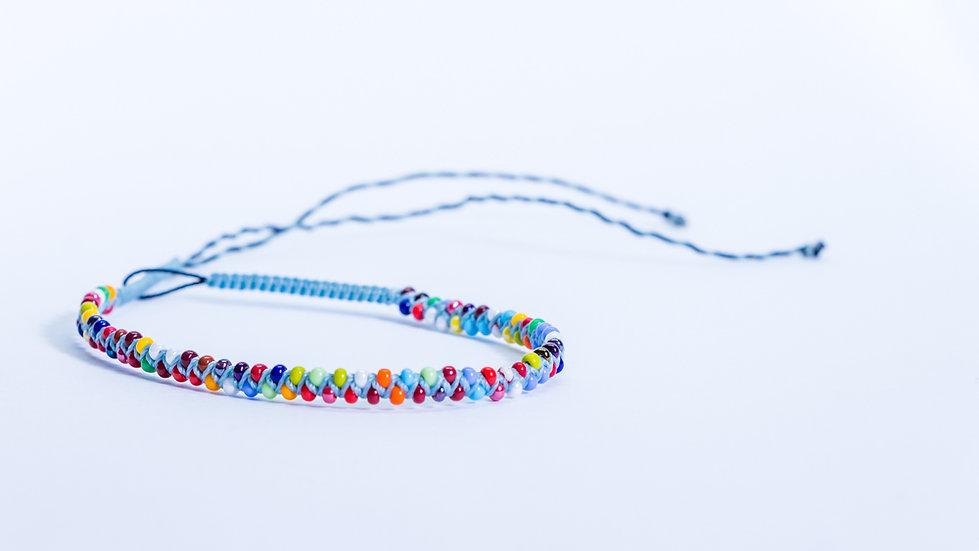 Guatapé Bracelet Blue/Multi