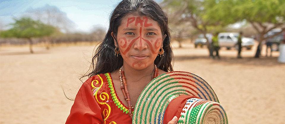 Wayuu Colombian woman