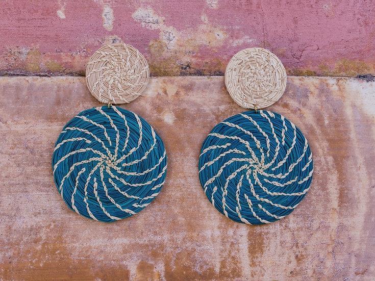San Juan Bright Blue Earrings