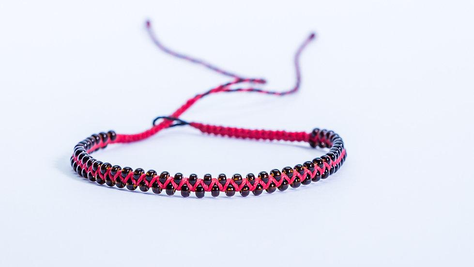 Guatapé Bracelet RedB/lack