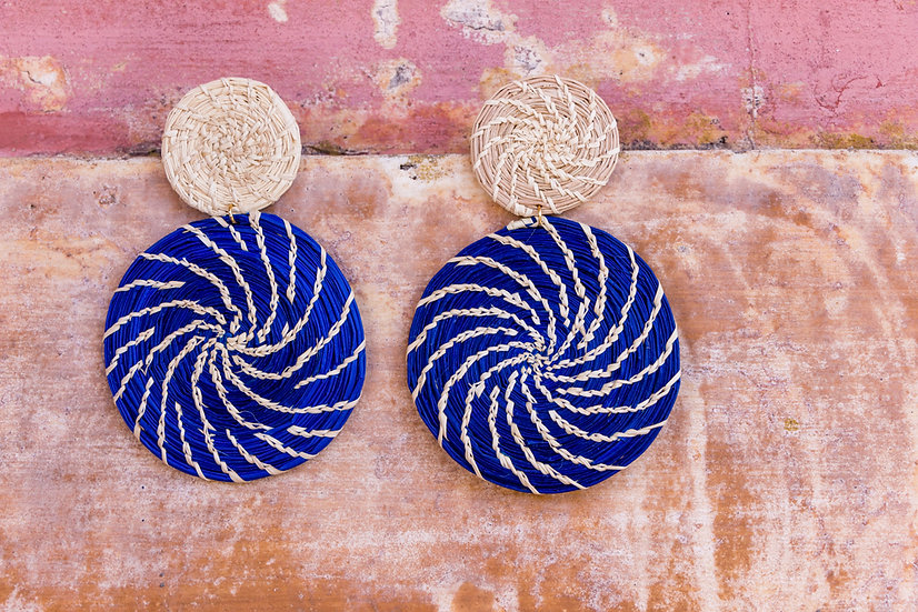 LaRue Blue Earrings