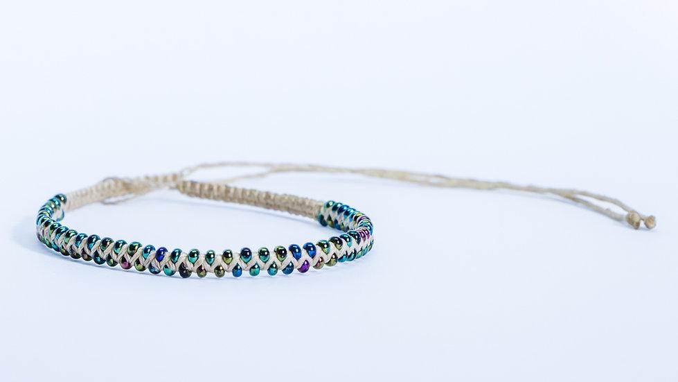Guatapé Bracelet Nude/Chrome