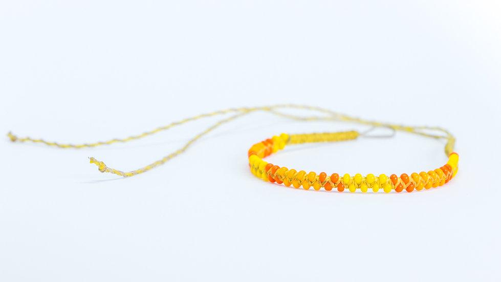 Guatapé Bracelet Yellow/Orange