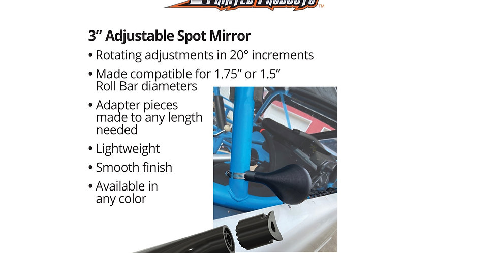 "3"" Adjustable Spot Mirror"
