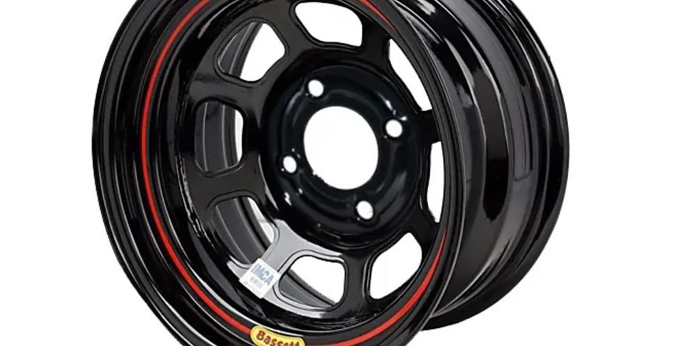 """13"""" x 8"""" Bassett wheels 4 x 4-1/4"""