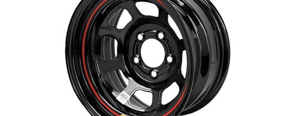 Bassett wheels black