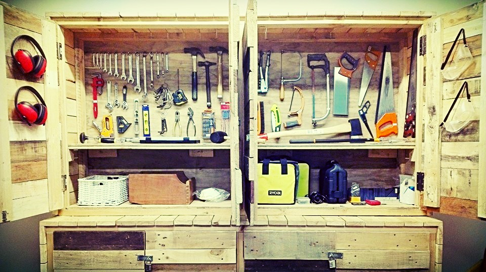 Tool Library Cabinet