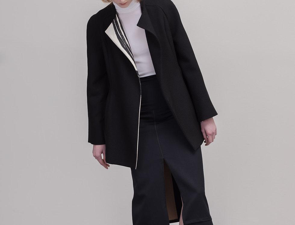 Printed lapel jacket
