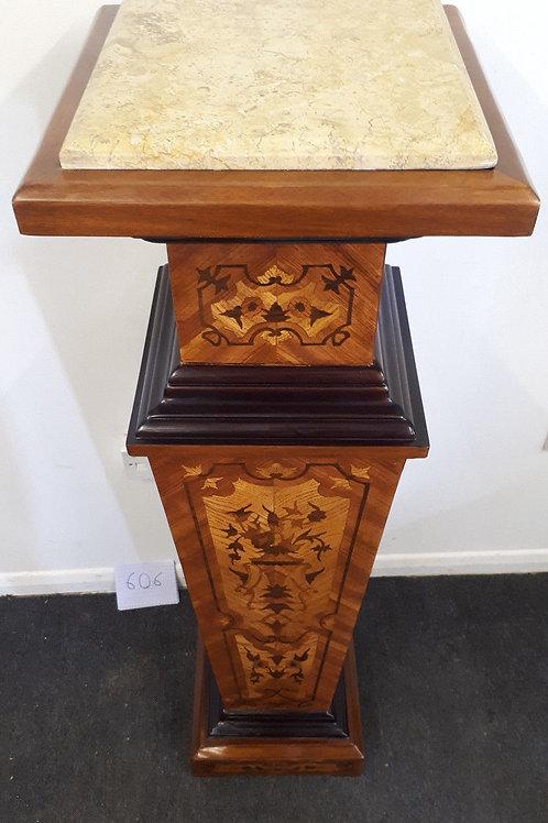 ANTIQUE FRENCH STYLE PILLAR COLUMN PEDESTAL TABLE STAND INTERIOR DESIGN - 606