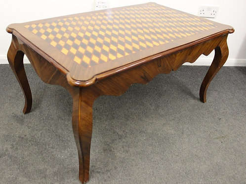 ANTIQUE FRENCH STYLE LOW COFFEE | SIDE | OCCASIONAL TABLE | HOME FURNITURE C420