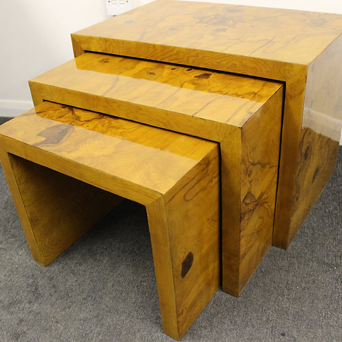 ANTIQUE ART DECO STYLE COFFEE | SIDE | NEST OF TABLES | HOME FURNITURE C410