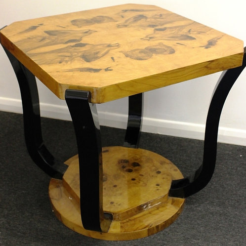 ANTIQUE ART DECO STYLE FURNITURE ROUND COFFEE | SIDE | OCCASIONAL TABLE C2