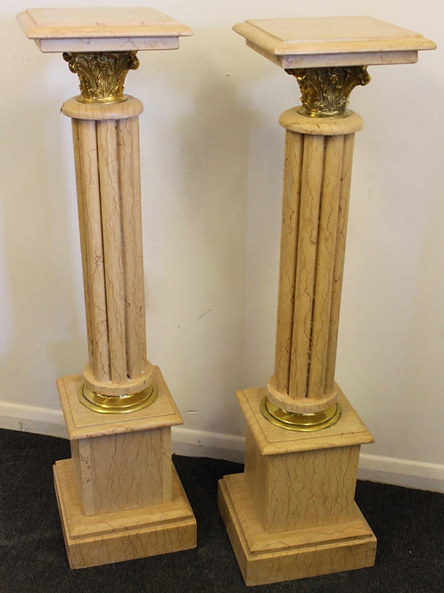 ITALIAN MARBLE COLUMNS | HALL STAND | PEDESTAL | EMPIRE C360