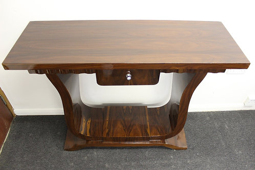 ANTIQUE ART DECO STYLE FURNITURE ROSEWOOD CONSOLE | HALL | HALLWAY TABLE C28