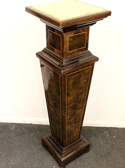 ANTIQUE ART DECO STYLE PILLAR COLUMN PEDESTAL TABLE STAND INTERIOR DESIGN - C262