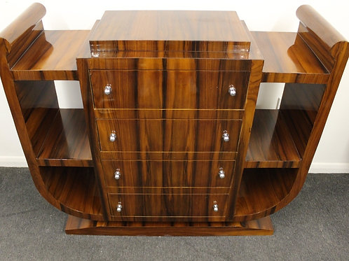 ANTIQUE ART DECO STYLE FURNITURE ROSEWOOD CONSOLE | HALL | HALLWAY TABLE C250