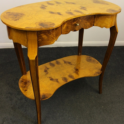 ANTIQUE FRENCH STYLE FURNITURE KIDNEY HALL | CONSOLE | OCCASIONAL TABLE C344