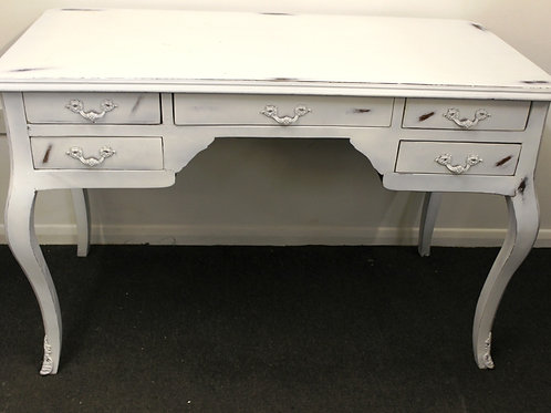 SHABBY COTTAGE RUSTIC DESK - OFFICE FURNITURE TABLE - C230