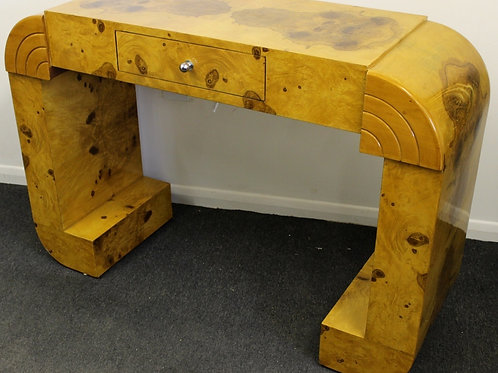 ANTIQUE ART DECO STYLE FURNITURE WALNUT CONSOLE | HALL | HALLWAY TABLE C211