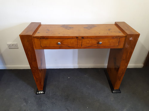 WOODEN CONSOLE TABLE WITH DRAWERS - 545