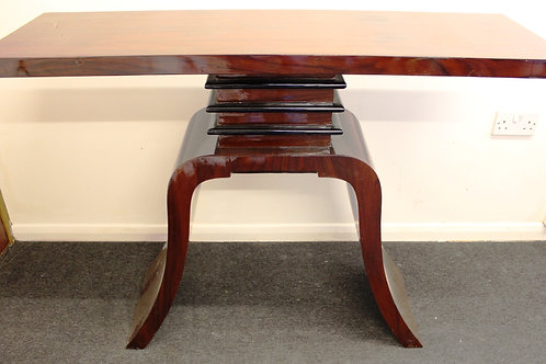 ANTIQUE ART DECO STYLE FURNITURE ROSEWOOD CONSOLE | HALL | HALLWAY TABLE C32