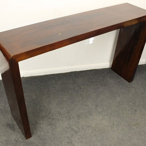 ART DECO FURNITURE CONSOLE HALL TABLE - IN ROSEWOOD - HOME - INTERIORS C421