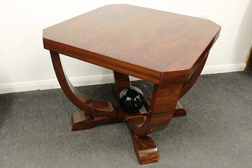 ANTIQUE ART DECO STYLE OCCASIONAL TABLE IN ROSEWOOD - C221