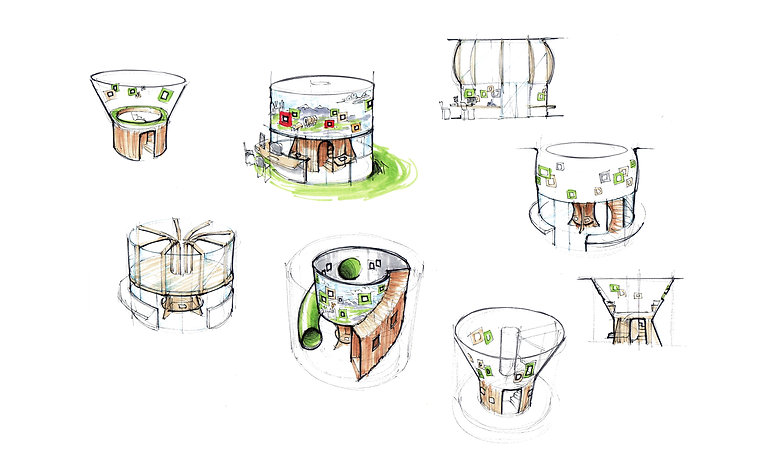 Treehouse sketches