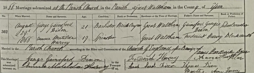 Marriage George & Emma Dixon.jpg
