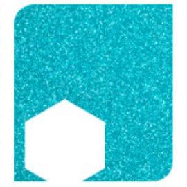 """Sparkling Aqua - Siser Easy PSV Glitter 12"""" x 12"""""""
