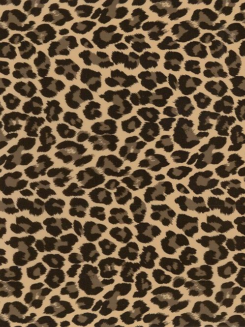 Leopard Gold DecoFilm Soft Metallic Heat Transfer Vinyl HTV Cricut Silhouette
