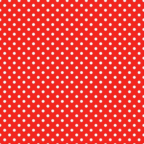 Polka Dot Red Siser EasyPattern HTV heat transfer tshirt iron on vinyl