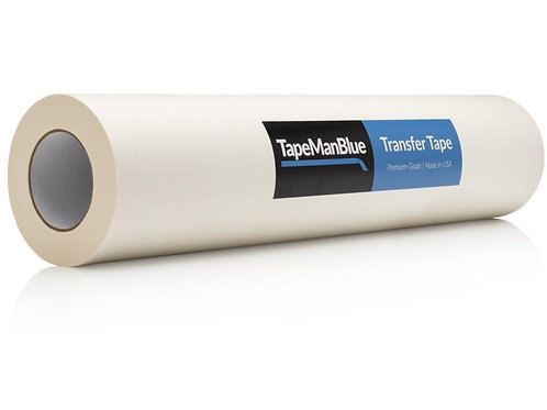 "Transfer PAPER 12"" x 100' Roll Transfer Tape for Adhesive Vinyl"