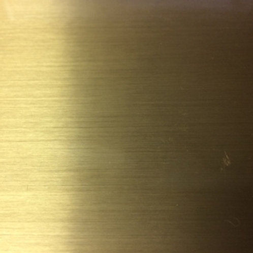 Brushed Gold Chrome - StyleTech Metalized and Chrome Adhesive Vinyl