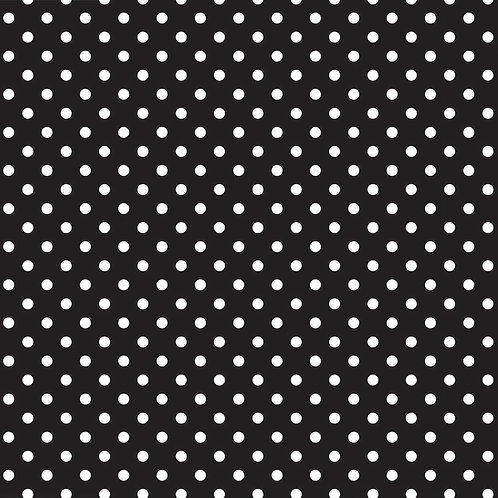 Polka Dot Black Siser EasyPattern HTV heat transfer tshirt iron on vinyl