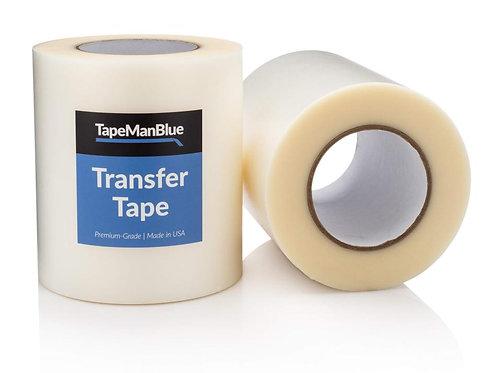 "Transfer Tape 6"" x 100' Roll Transfer Tape for Adhesive Vinyl"