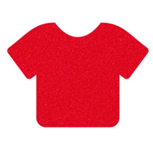 Bright Red Siser StripFlock Pro Heat Transfer Vinyl | HTV Iron-on tshirt