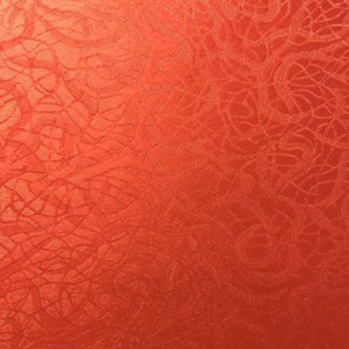 Red Taperstry - StyleTech Textured Adhesive Vinyl