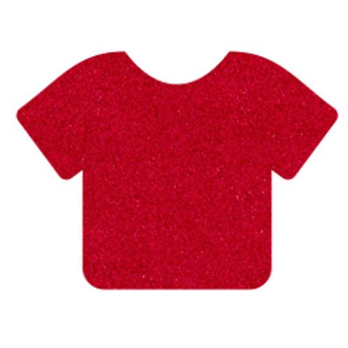 Red Siser StripFlock Pro Heat Transfer Vinyl | HTV | Iron-on T-shirt