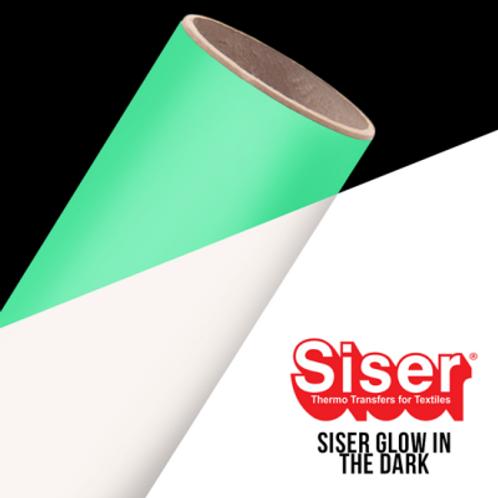 Siser Glow In The Dark Easyweed Heat Transfer Vinyl | HTV | Iron-on T-shirt