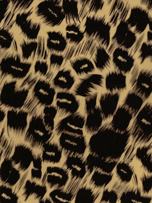 Cheetah DecoFilm Soft Metallic Heat Transfer Vinyl HTV Cricut Silhouette