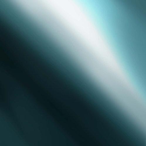 "Silver Blue Siser Metal - Heat Transfer Vinyl 12"" x 20"""