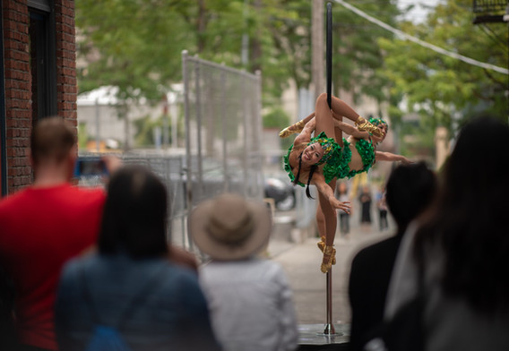 Chrysalis Circus at JamFest 2018/Wing Luke Museum
