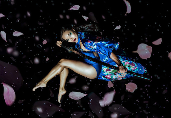 Artistic collaborations: Vivian Tam goes flying with photographer Jos Riv
